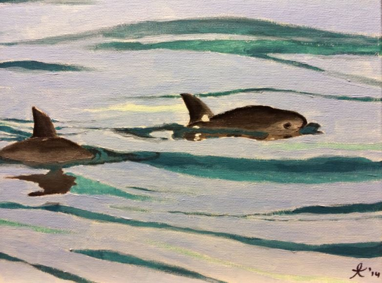 Vaquita painting